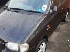 Suzuki Alto, 2003 (53) Black Hatchback, Manual Petrol, 72,000 miles