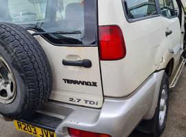 Nissan TERRANO II, 1997 (R) White Estate, Manual Diesel, 188,684 miles