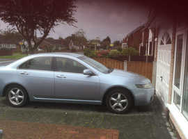 Honda Accord, 2004 (04) Silver Saloon, Manual Diesel, 144,000 miles