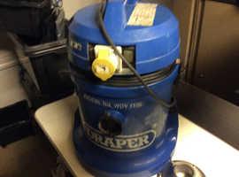 Draper 110volt vacuum cleaner wet &dry