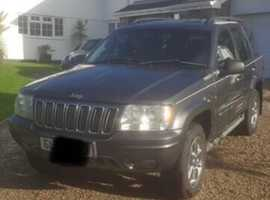 Jeep GRAND CHEROKEE CRD LTD AUTO, 2003 (03), Automatic Diesel, 133,000 miles