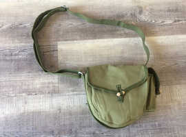 Genuine Vintage Chinese Army Green Canvas Magazine Bag
