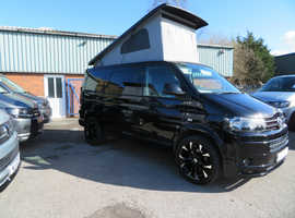 2015 (15) 140bhp VW T5 in Deep Pearl Black Campervan - Highline, SWB with only 20,000k miles  Awaiting An Interior Conversion