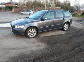 Volvo V50, 2011 (11) grey estate, Manual Diesel, 160,000 miles