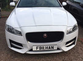 Jaguar Xf, 2016 (16) White Saloon, Manual Diesel, 35,000 miles