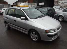 Mitsubishi SPACE STAR, 2004 (04) Silver Hatchback, Manual Diesel, 77,000 miles