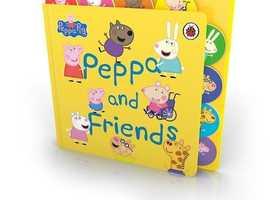 PEPPA PIG  PEPPA AND FRIENDS STORY BOARD BOOK