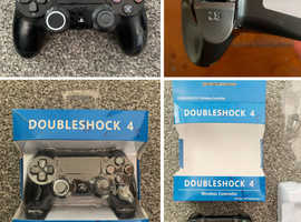 Dual Shock PS4 Wireless Controller - Only £5 (broken R2 back button)