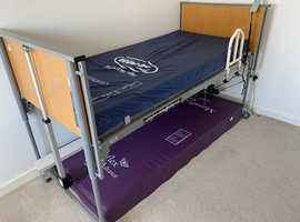 Mobility single bed & mattress