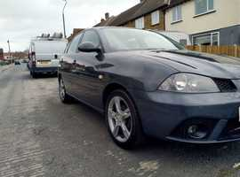 Seat Ibiza, 2007 (57) Grey Hatchback, Manual Petrol, 85,037 miles