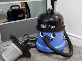 Numatic Charles CVC370 Bagged Wet & Dry Cleaner 12 MONTHS OLD Ex. Cond. 12 Month Warranty Remaining!