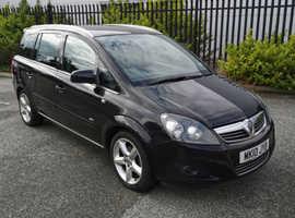 Vauxhall Zafira, 2010 (10) Black MPV, Manual Petrol, 106,000 miles