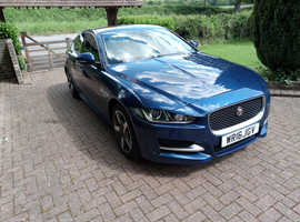 2016 1 0wner Jaguar XE, SPORT  Blue Saloon, Manual Diesel, 33,000 miles