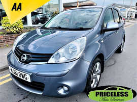 Nissan Note, 2011 (61) Grey MPV, Manual Petrol, 77,732 miles