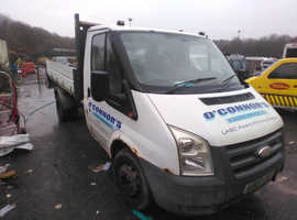 Ford single cab twin wheel transit tipper