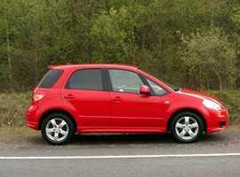 Suzuki SX4, 2010 (10) Red Hatchback, Manual Petrol, 41,000 miles, (01443) 831670