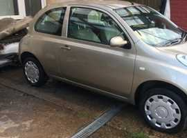 Nissan MICRA AUTO, 2003 (03), Automatic Petrol, 18,500 miles
