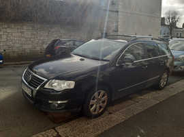VW Passat SE, 2007, TDI 2.0 (140 bhp), Black Estate, Manual Diesel, 152,000 miles, FSH