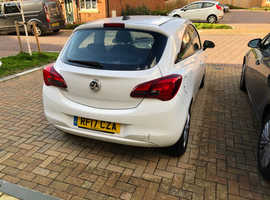 Vauxhall Corsa, 2017 (17) White Hatchback, Manual Petrol, 27,410 miles