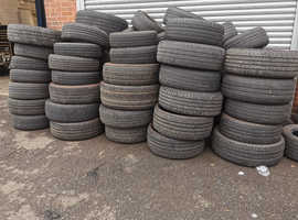 FREE Used Old scrap Tyres available for collection