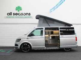 Volkswagen Campervan T6, drop down tv, luxury furniture kit, brand new conversion
