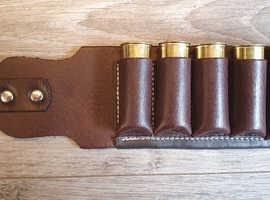 Genuine leather 12g cartridge belts