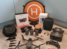 Dji Mavic 2 Pro bundle inc Racing Edition Goggles