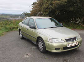 Honda Accord, 2000 (W) Gold Saloon, Automatic Petrol, 99,000 miles