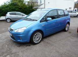 Ford C-Max, 2008 (08) Blue MPV, Manual Diesel, 76,000 miles