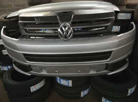 VW T5 front end in silver