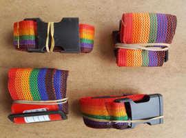 Luggage straps. Tie Belt, For suitcase. Quantity 4