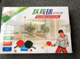 Table tennis training aid