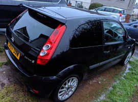 Ford Fiesta, 2007 (57) Black Hatchback, Manual Petrol, 99,920 miles