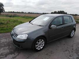 Volkswagen Golf, 2006 (06) Green Hatchback, Manual Petrol, 68,000 miles