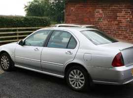 Rover 45, 2005 (05) silver hatchback, Manual Petrol, 84,000 miles