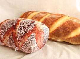 UNIKHOM Bread Roll Cushion