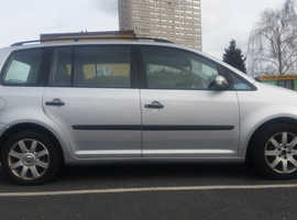 Volkswagen Touran, 2004 (04) Silver MPV, Manual Diesel, 196,000 miles for sale