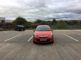 Vauxhall Corsa, 2014 (14) Red Hatchback, Manual Petrol, 25,200 miles
