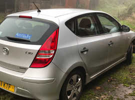 Hyundai i30, 2011 (11) Silver Hatchback, Manual Diesel, 126,300 miles