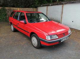 Peugeot 405 STYLE DIESEL, 1995 (M) Red Estate, Manual Diesel,