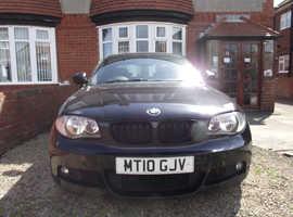 BMW 120D coupe,m-sport, 2010, 241 BHP,very nice car.