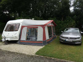 Elddis odyssey 482 2 berth Caravan 2002 + Everything you need to holiday