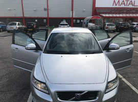 Volvo S40, 2010 (10) silver saloon, Automatic Diesel, 50,800 miles