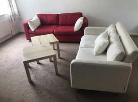 Sofas and coffee Table