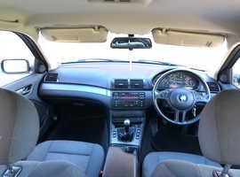 BMW 3 Series, 2003 (53) Silver Saloon, Manual Diesel, 84,100 miles