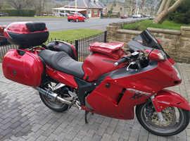 2005 Honda CBR1100 xx Super Blackbird, very reluctant sale.