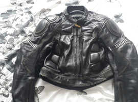 Frank thomas bike leathers