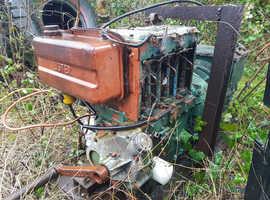 Lister 3 cylinder air cooled diesel generator