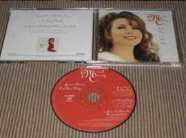 mariah carey born on this day promo cd.