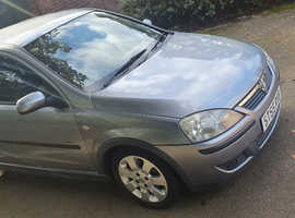 Vauxhall Corsa, 2006 (55) Silver Hatchback, Manual Petrol, 84,000 miles